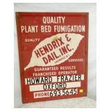 24X30 PLANT HENDRIX DAIL DEALER SIGN