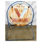 SIDE WALK SIGN-30IN VALVOLINE