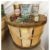QUAKER STATE, OTHER OIL CANS