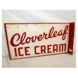 12X22 CLOVERLEAF ICE CREAM FLANGE