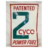 24X36 ZYCO FUEL SIGN