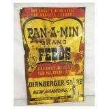 17X27 PAN-A-MIN FEEDS SIGN