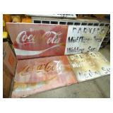 108X37 COKE STATION SIGNS