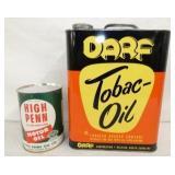 DAR TOBACO OIL, HIGH PENN CAN