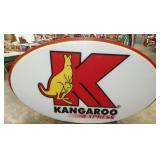 PLASTIC KANGAROO INCERT SIGN