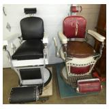 VIEW 3 2 PORC. BARBER CHAIRS