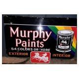 PORC. MURPHY PAINTS SIGN