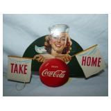 11X7 TAKE HOME COKE CARDBOARD LIGHTPULL