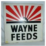 86X36 1969 WAYNE FEEDS SIGN