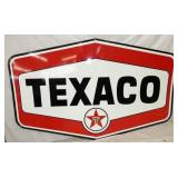 85X53 PORC. TEXACO 6 SIDED SIGN