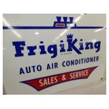 VIEW 2 FRIGIKING PORC. DEALER SIGN