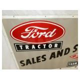 VIEW 2 CLOSEUP FORD DEALER PORC. SIGN