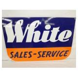 36X24 PORC. WHITE SALES SERVICE DEALER
