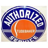 VIEW 2 CLOSEUP STUDEBAKER DEALER SIGN