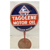 30IN SKELLY MOTOR OIL SIDEWALK SIGN