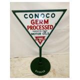 30X24 PORC. CONOCO MOTOR OIL SIDEWALK
