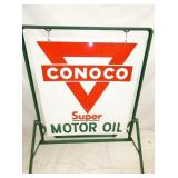 VIEW 2 CLOSEUP PORC. CONOCO MOTOR OIL
