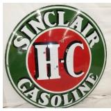 48IN PORC. HC SINCLAIR SIGN