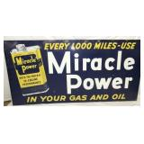 94X46 1954 UNUSUAL MIRACLE POWER SIGN