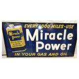 VIEW 3 SIDE 2 MIRACLE POWER GAS SIGN