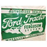 VIEW 2 CLOSEUP FORD TRACTOR FEGUSON