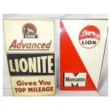 14X24 LION METAL SIGNS