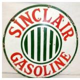 24IN PORC. SINCLAIR GASOLINE SIGN