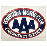 30X23 PORC. AAA PENINSULA MOTOR CLUB