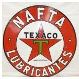 36IN PORC. TEXACO NAFTA LUBRICANTES