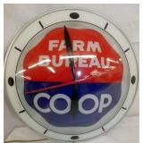 BARM BUREAU COOP BUBBLE CLOCK