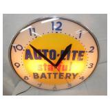 VIEW 2 AUTO LITE BATTERY CLOCK