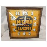 15IN MCCORD GASKETS CLOCK
