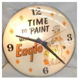 20IN PAM EAGLO PAINT CLOCK