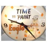 VIEW 2 W/ PAINTER PAINT CLOCK