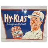 26X20 1949 HY KLAS DEALER PAINT SIGN