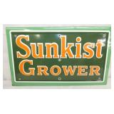 19X12 PORC. SUNKIST GROWER SIGN