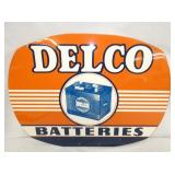 24X18 1953 DELCO BATTERIES SIGN
