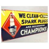 VIEW 2 CLOSEUP CHAMPION W/ SPARK PLUG