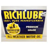 16X12 RICHLUBE 1947 SIGN