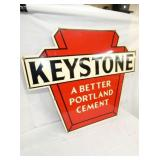 VIEW 2 36X30 KEYSTONE CEMENT SIGN