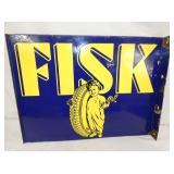 26X19 PORC. FISK FLANGE SIGN
