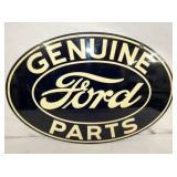 VIEW 2 OTHERSIDE FORD METAL ORIG. SIGN