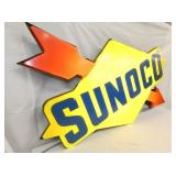 VIEW 2 LEFTSIDE LIGHTED SUNOCO SIGN
