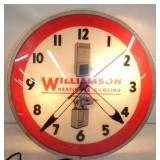16IN WILLIAMSON HEATING/COOLING CLOCK
