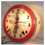 VIEW 2 WILLIAMSON HEATING WALL CLOCK