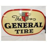 VIEW 2 CLOSEUP GENERAL TIRE FLANGE SIGN