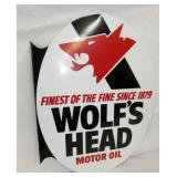 VIEW 2 OTHERSIDE WOLFS HEAD FLANGE SIGN