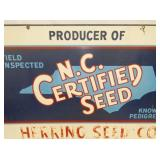 VIEW 2 CLOSEUP NC CERTIFIED SEED SIGN