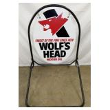 28X49 WOLFS HEAD SIDEWALK SIGN