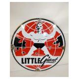10IN PORC. LITTLE GIANT SIGN